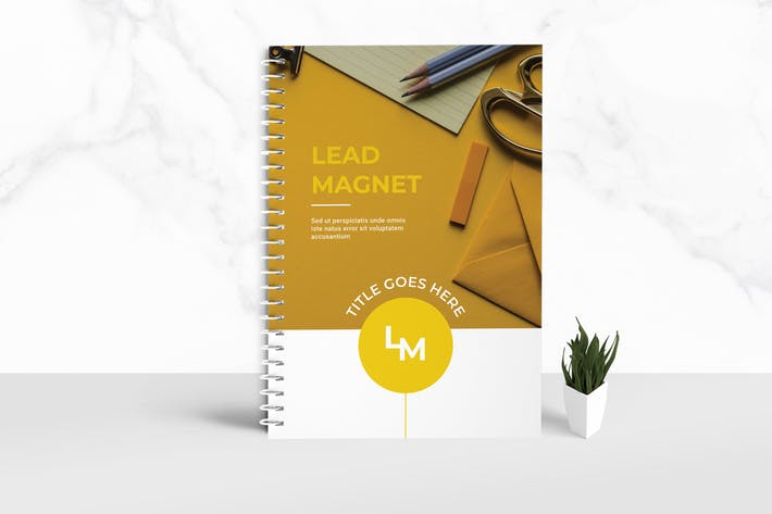 Thumbnail for Lead Magnet Workbook Template