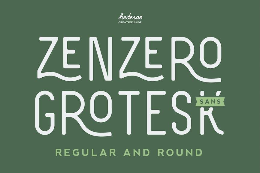 Zenzero-Sans