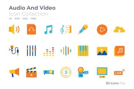Symbol Audio - und Video arbe