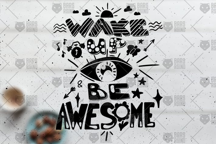Thumbnail for Motivational Overlay - Wake Up And Be Awesome