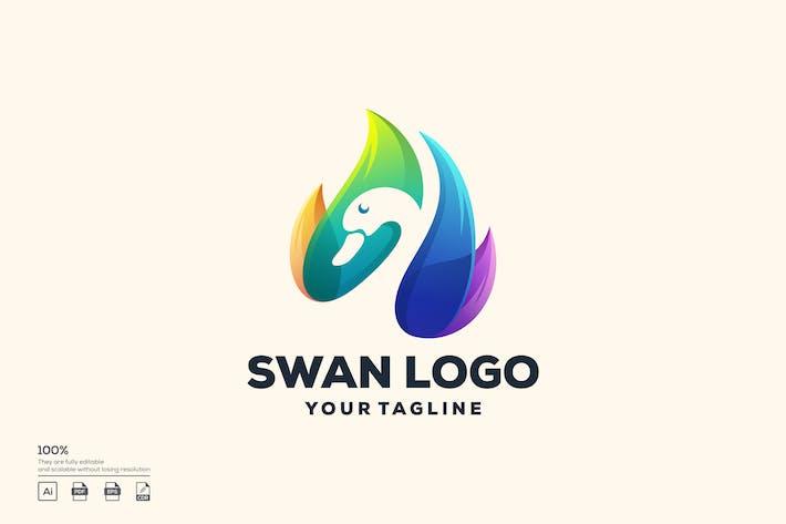 Thumbnail for swan logo design