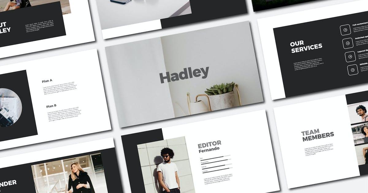 Download Hadley - Keynote Template by axelartstudio