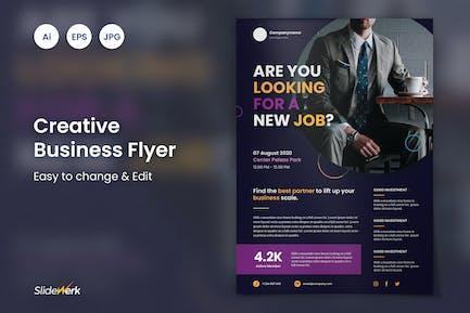 Creative Business Flyer 40 - Slidewerk