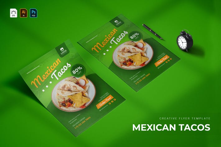 Mexican Tacos | Flyer