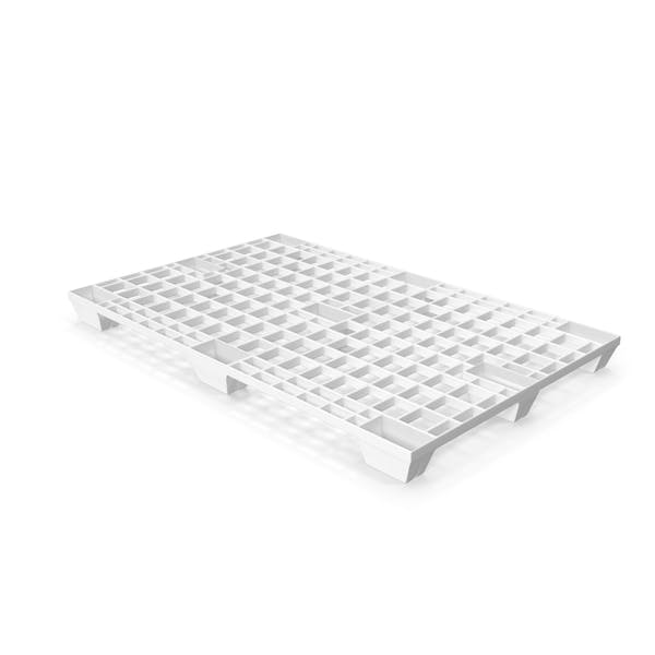 White Plastic Pallet