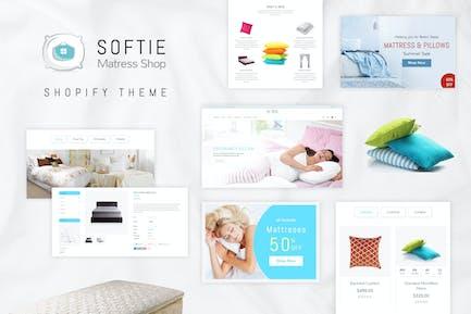 Softie | Beds & Mattress Shopify Theme