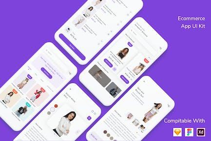 Ecommerce App UI Kit