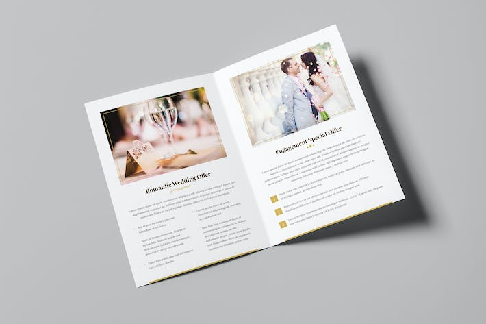 Thumbnail for Brochure – Hotel for Wedding Bi-Fold