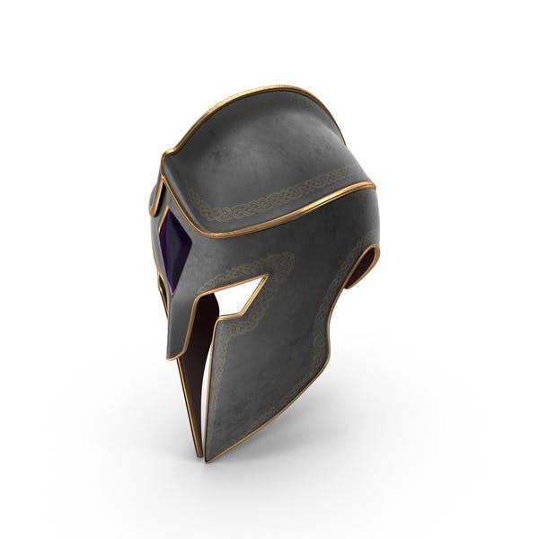 Фантастический рыцарский шлем