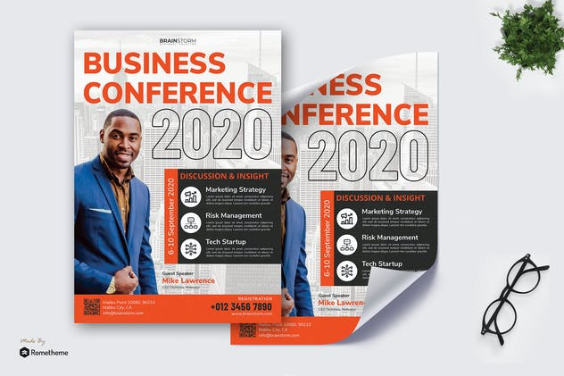 Business Seminar vol.02 - Poster RB