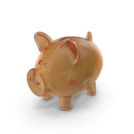 Piggy Bank Glass