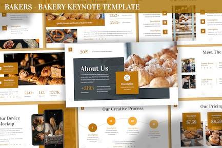 Bakers - Bakery Keynote Template