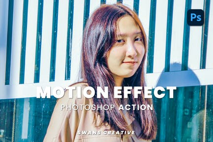Motion Effect Photoshop Action