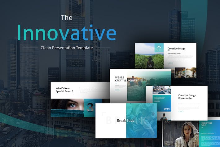 Thumbnail for The Innovative Clean PowerPoint Template