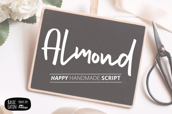 Thumbnail for Almond Font