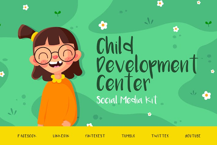 Thumbnail for Child Development Center – Social Media Kit