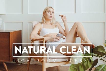 10 Natural Clean Lightroom Preset