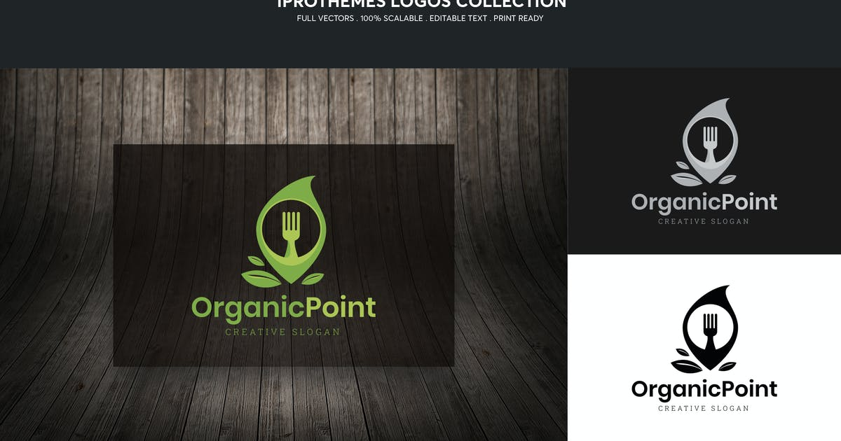 Download Organic Point Logo Template by 1protheme