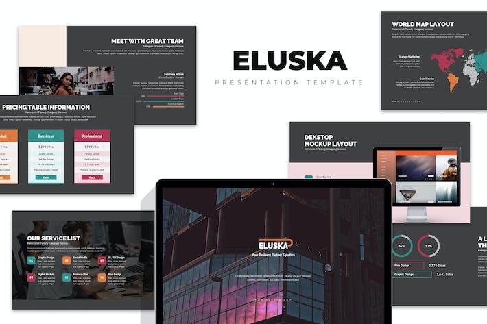 Thumbnail for Eluska : Fresh Corporate Credentials Powerpoint
