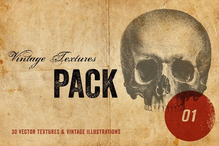 Thumbnail for Vintage Textures Pack