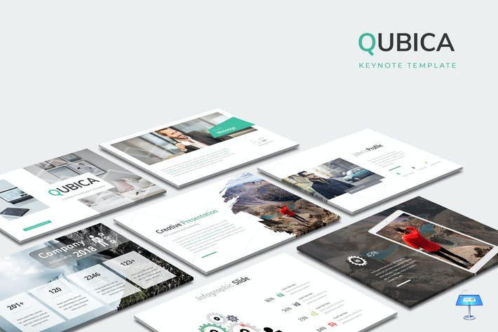 Thumbnail for Qubica - Keynote Template