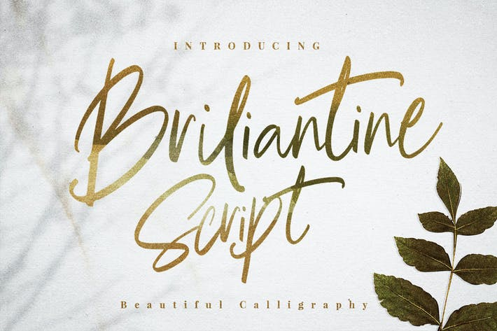Thumbnail for Briliantine Script