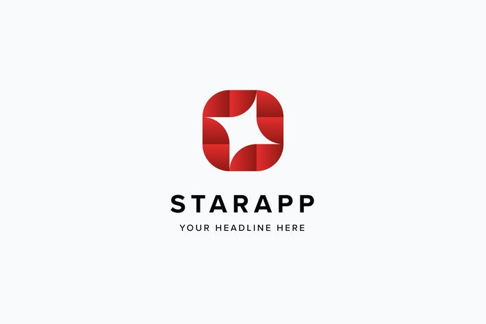 star app logo template by pixasquare on envato elements