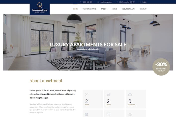 Thumbnail for Luxury Apartment - Single property