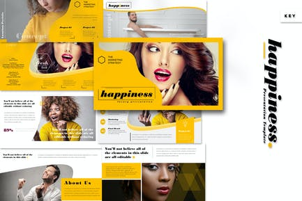 Happiness - Keynote Template
