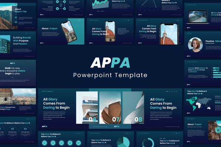 Thumbnail for APPA Business Powerpoint Template