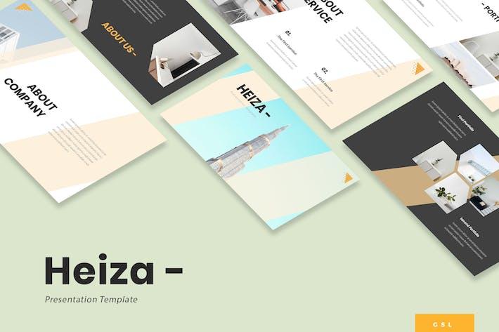 Heiza - Corporate Google Slides Template