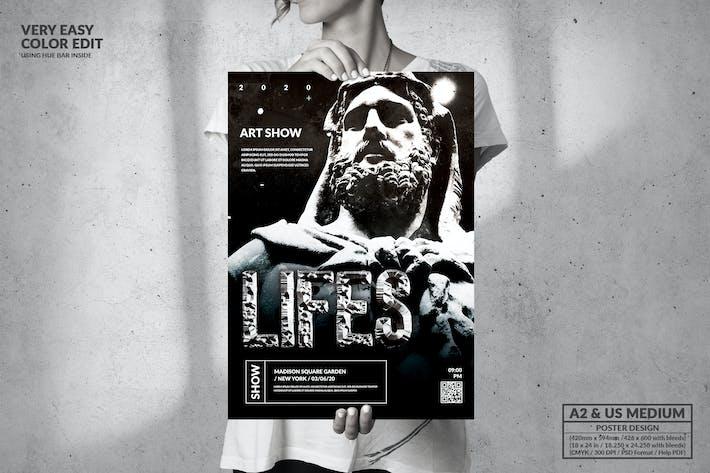 Thumbnail for Événement Art de la Vie - Grande affiche
