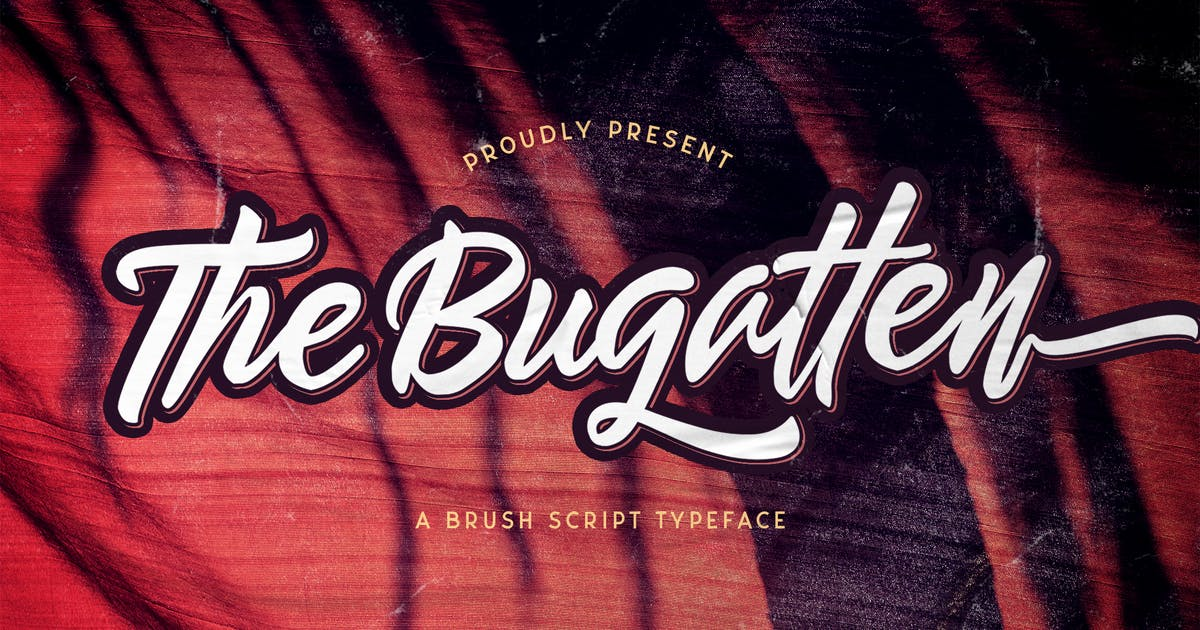 Download The Bugatten - Bold Script Font by StringLabs