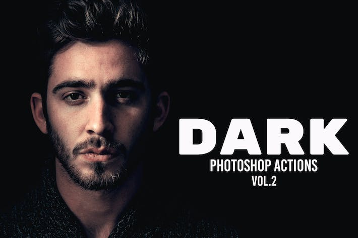 Thumbnail for Dark Photoshop Actions Vol. 2