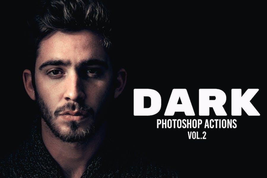 Dark Photoshop Actions Vol. 2