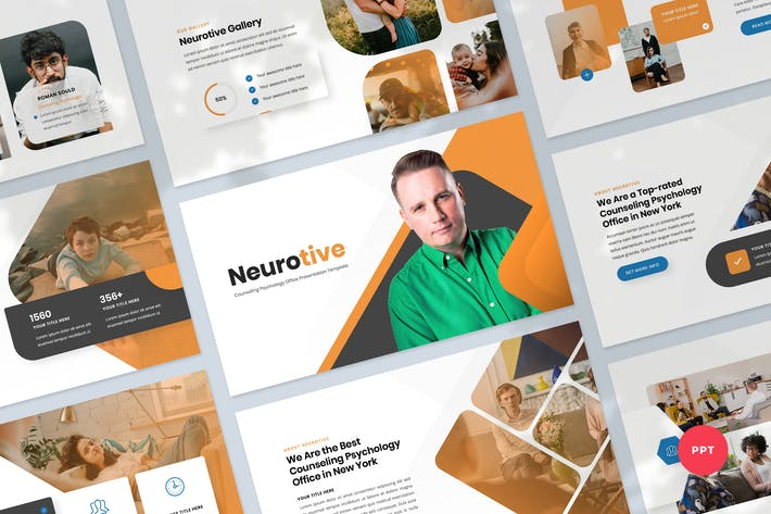 Counselling Psychology PowerPoint Template