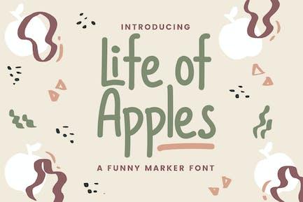 Life of Apples – Comic Handwritting Font