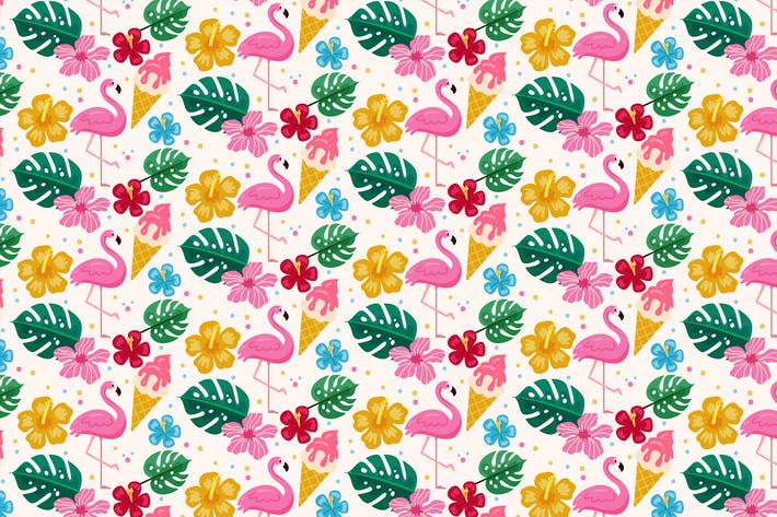 Thumbnail for Flamingo Pattern