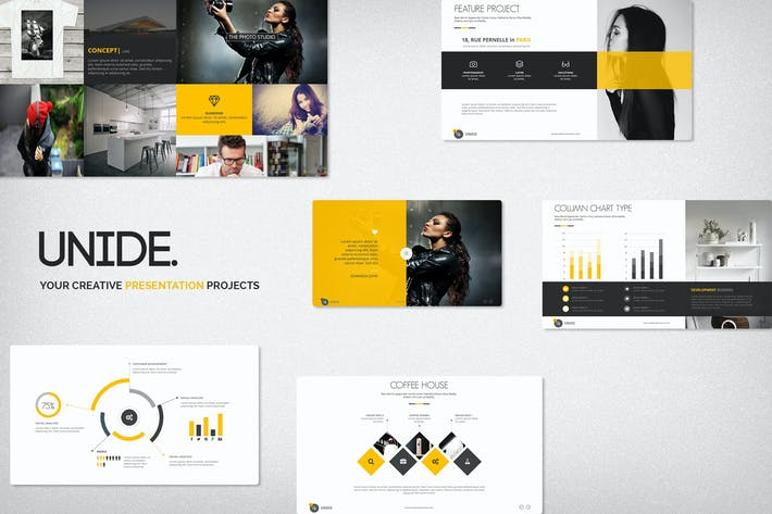 Thumbnail for Unide Creative Presentation Template