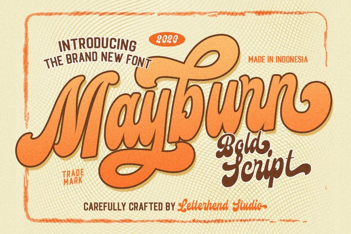 Mayburn - Guión en negrita