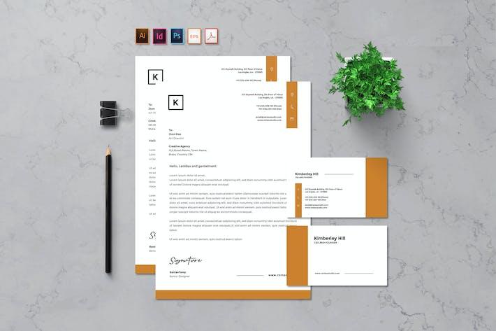 Thumbnail for Rantautemp - Letterhead and Business Card