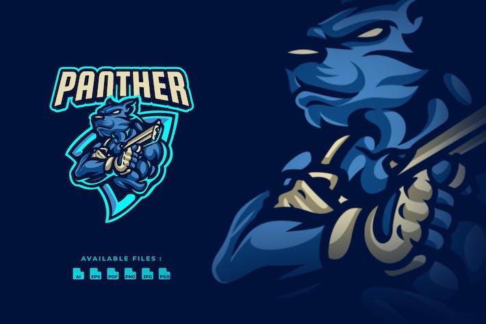 Panther Shooter Esport Logo