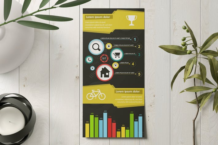 Thumbnail for Editable Infographics Template