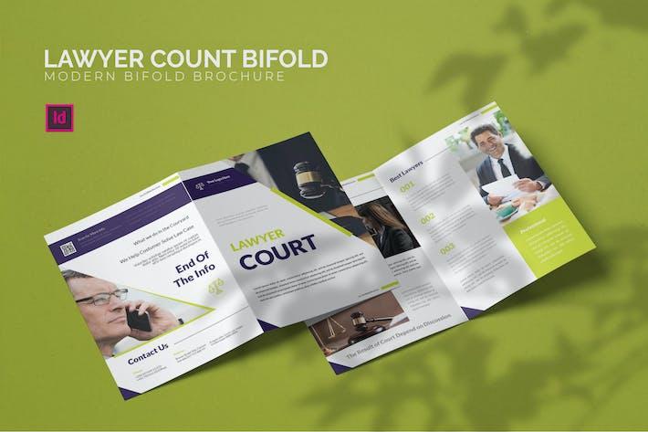 Lawyer Count - Bifold Brochure