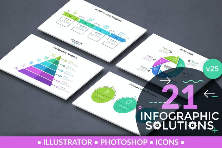 Cover Image For Infographic Solutions. Part 25