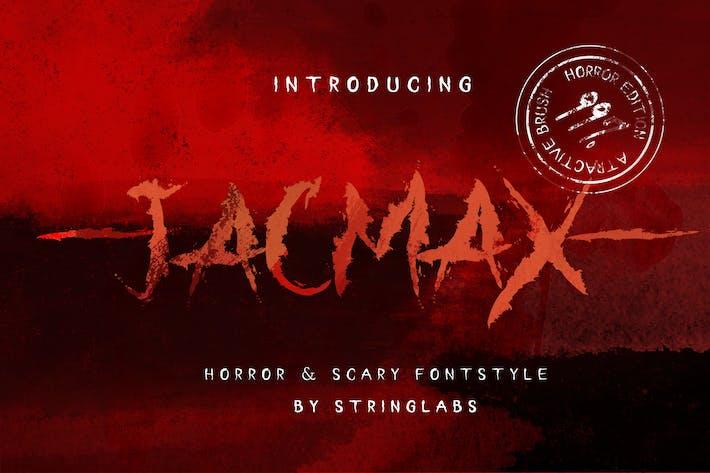 Thumbnail for Jacmax - Horror Font