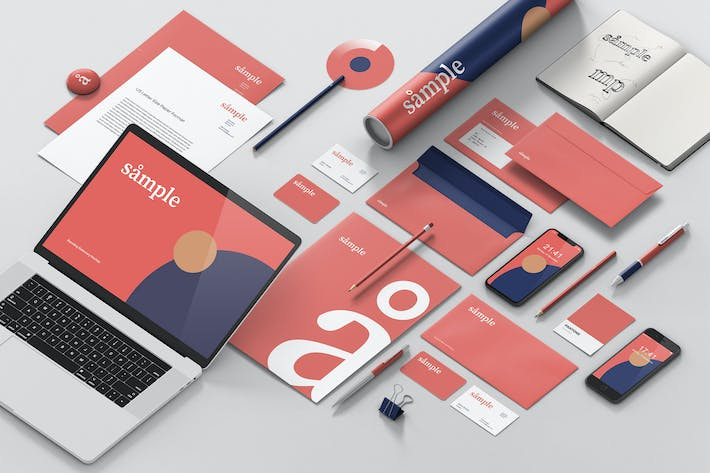 Thumbnail for Stationery Branding Mockup Creator