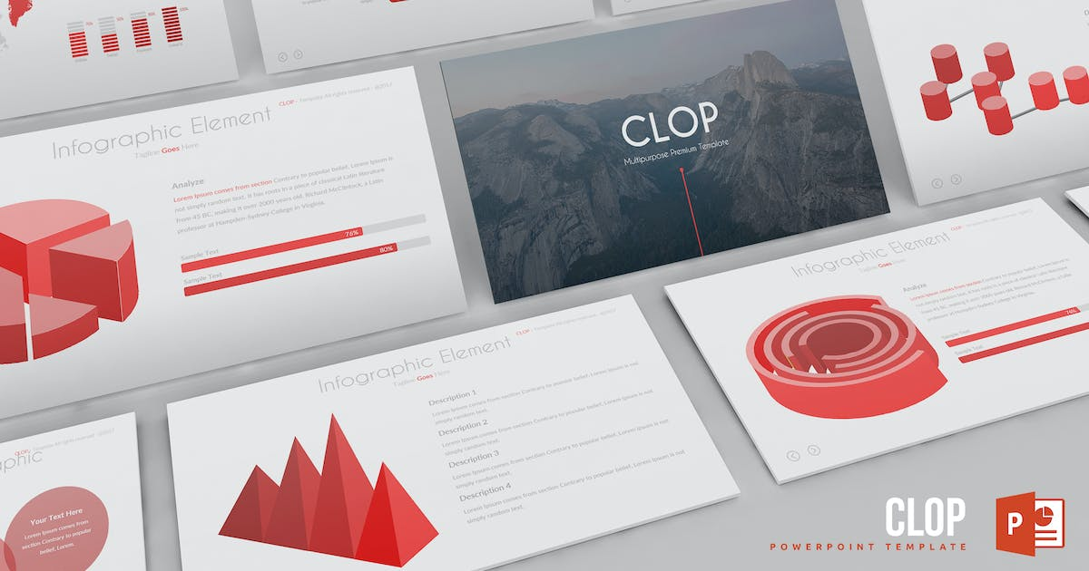 Clop Powerpoint Template by Unknow