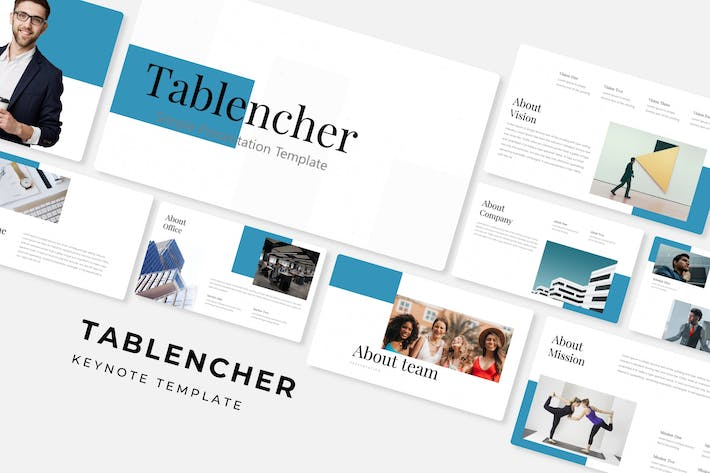Thumbnail for Tablencher - Keynote Template
