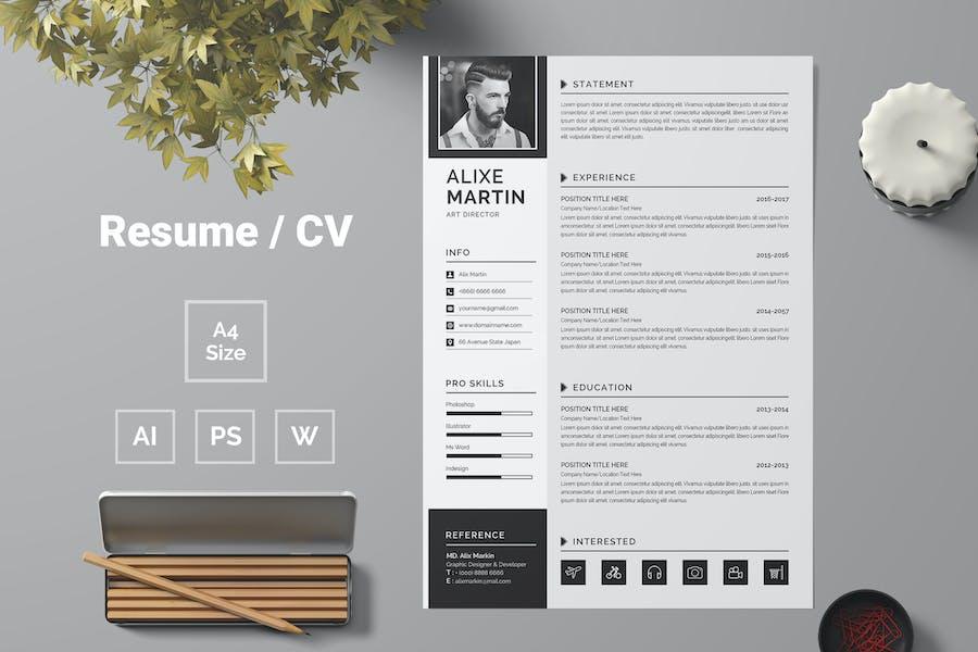 Resume Template 68